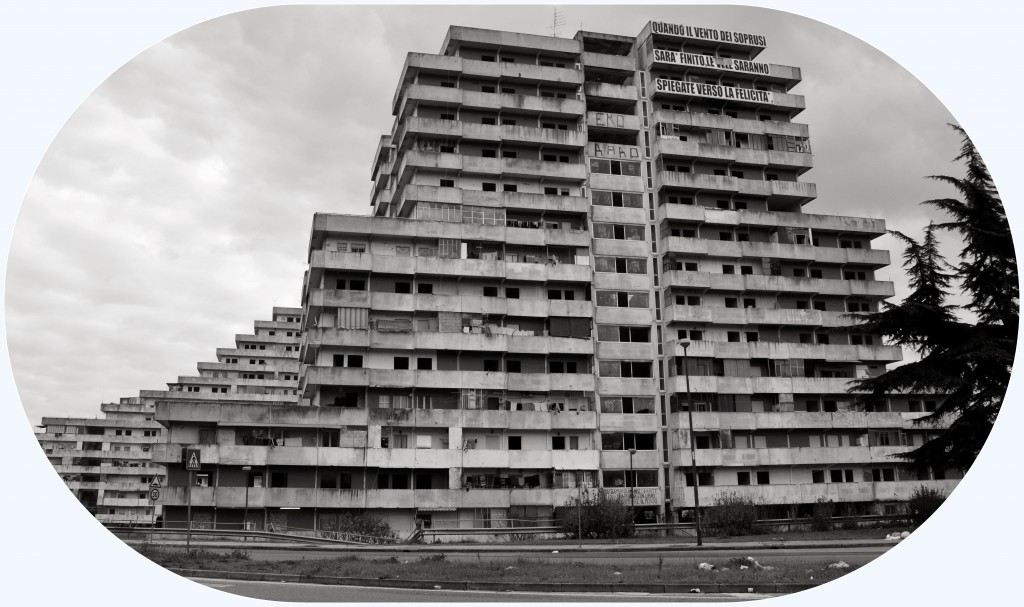 Le vele | Scampia | the view | enrico procentese